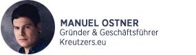 Kreutzers Manuel Ostner