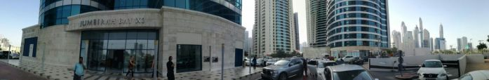 Eingang zum Bürogebäude unserer Tochtergesellschaft in Dubai