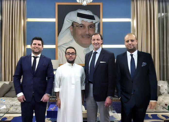 Ing. Dieter Christandl, seine Hohheit Prinz Abdulaziz bin Khalid Bin Abdullah, Alexander Haider, CSE und Jürgen Badawi