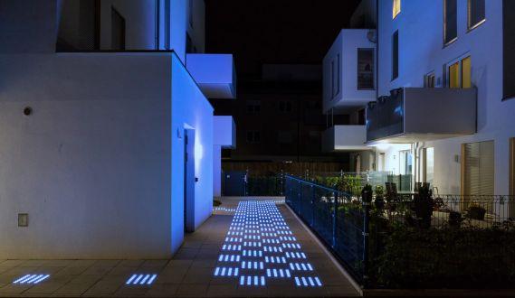 Lichtbeton des Crowdinvesting-Projektes LCT
