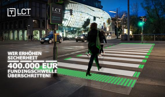 LCT knackt die 400.000 Euro Schwelle.