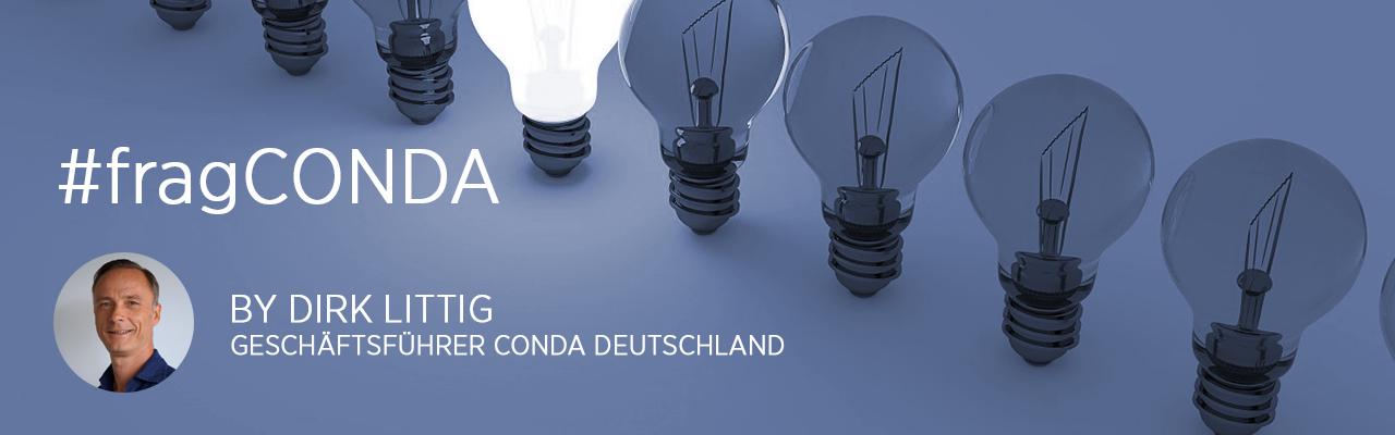 #fragCONDA mit Dirk Littig