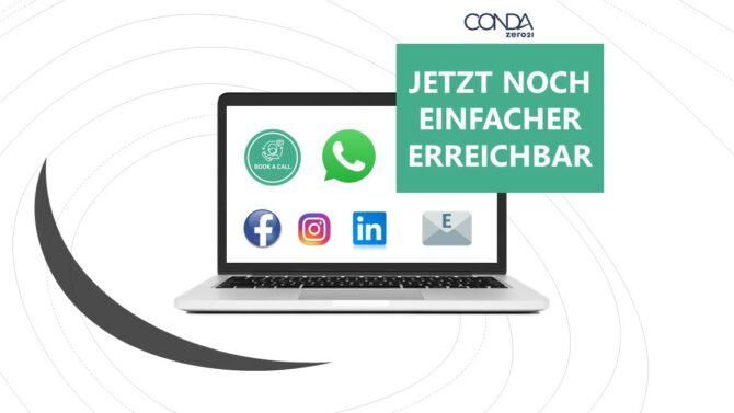 CONDA Kontaktmöglichkeiten