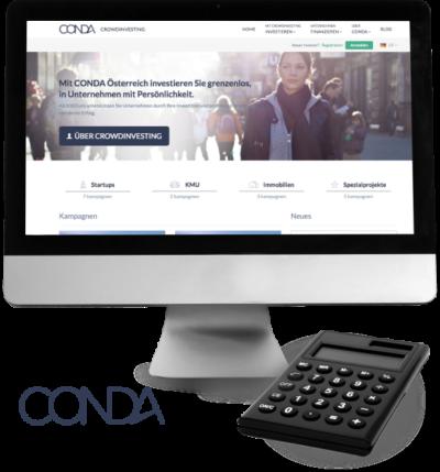 CONDA Crowdinvesting Crowdfunding