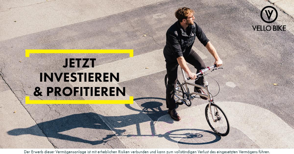 vello bike - crowd invest - conda