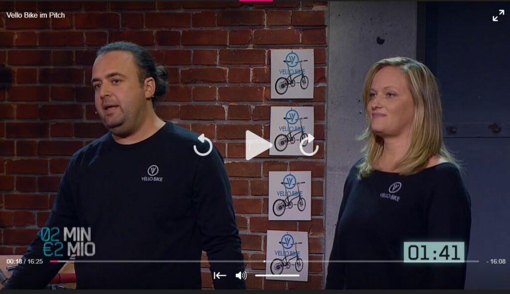 VELLO Bike - Pitch 2 Minuten 2 Millionen