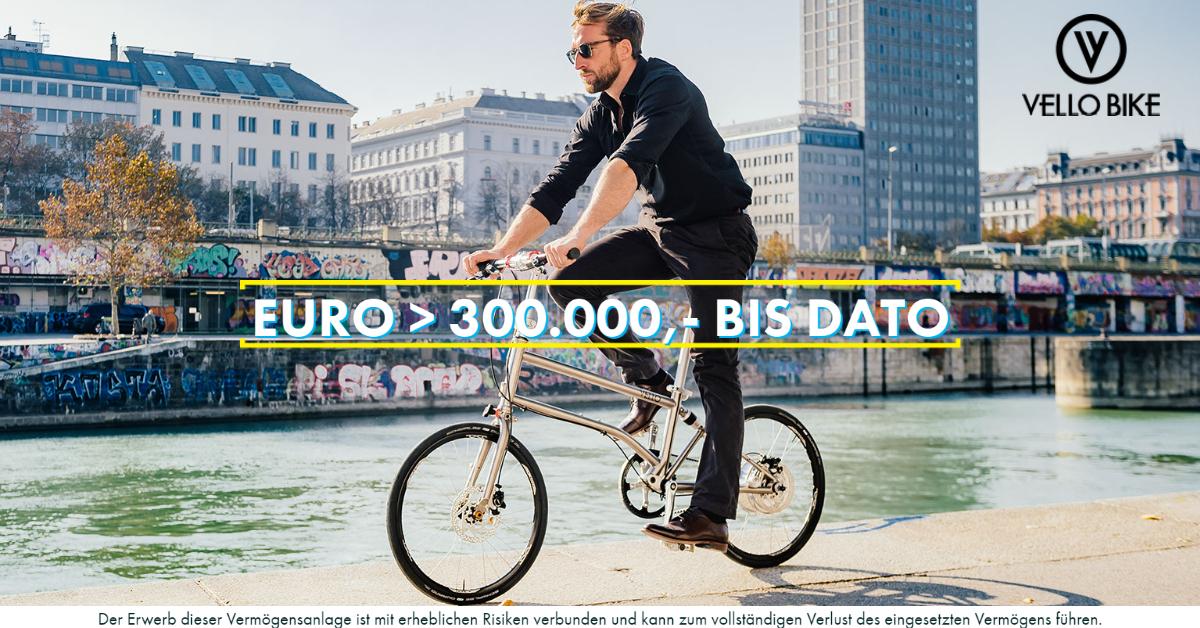 VELLO Bike - 250.000 Euro - CONDA