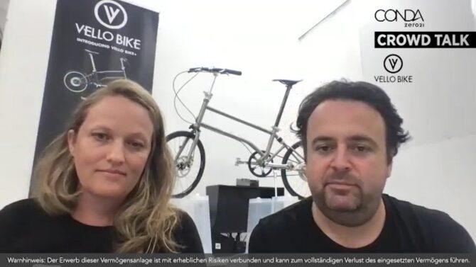 VELLO Bike - Crowd talk - conda