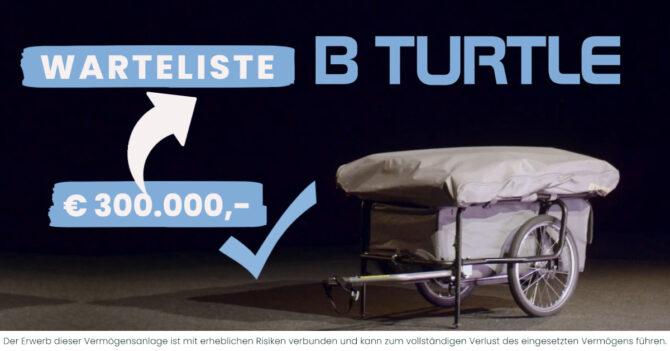 B TURTLE WARTELISTE