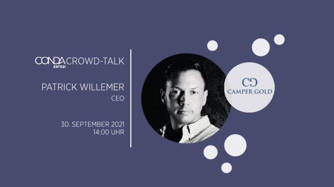 CONDA Crowd Talk mit Patrick Willemer