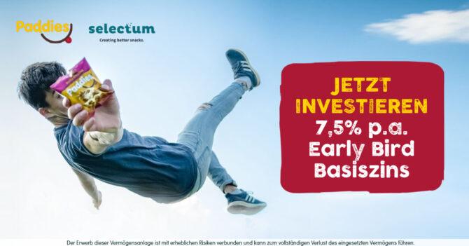 Selectum bietet 7,5% jährliche Zinsauszahlung
