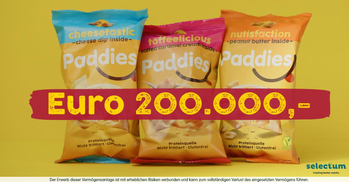 Selectum hat bereits Euro 200.000 gefundet