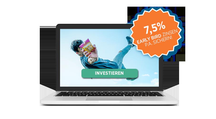 Jetzt in die Food Innovation Paddies investieren und von 7,5% Early Bird Zinsen profitieren!