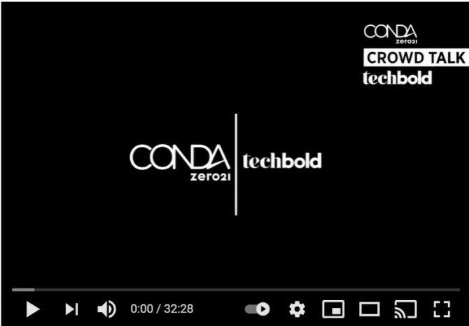 techbold führt eine Aktieneigenemission mit der CONDA Plattform-Technologie durch.