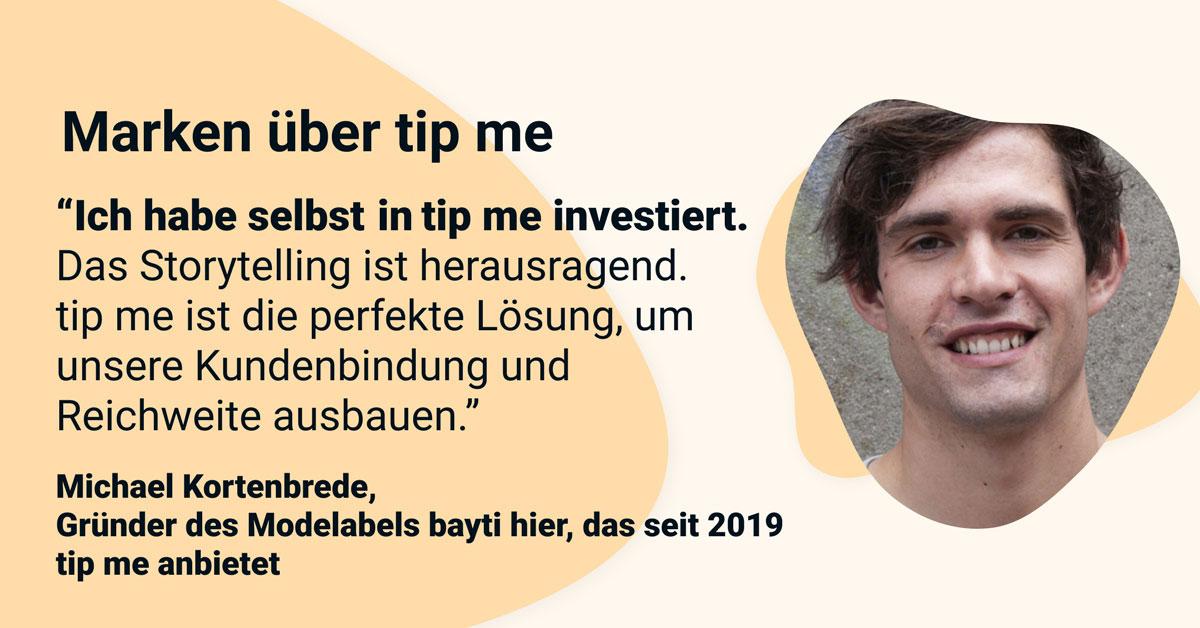 tip me - Michael Kortenbrede
